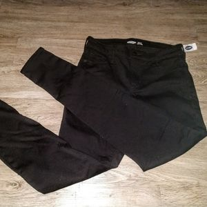 NWT Old Navy black jeans Sz. 2